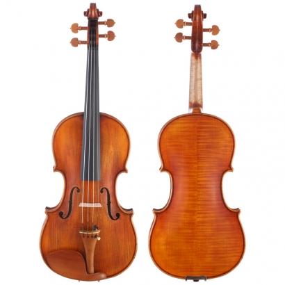 青歌F504仿古复古大师亲制演奏小提琴
