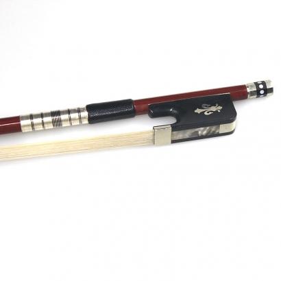G102雕花巴西木大中小提琴弓