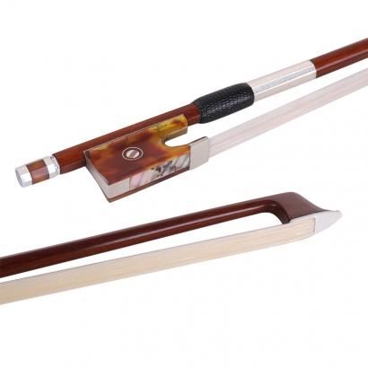 G223檀木玳瑁小提琴中提琴弓