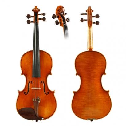 QV3615孙雪峰制作仿古小提琴