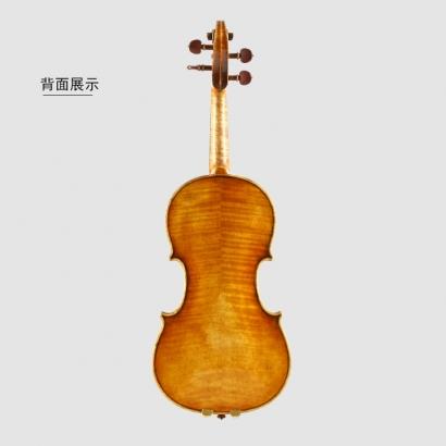 QV4750孙雪峰亲制欧料仿旧小提琴