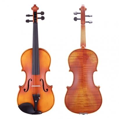 QV201可考四级虎纹小提琴