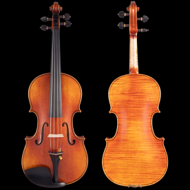 QV206手工油性漆小提琴